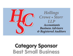 Best Small Business Award Sponsor